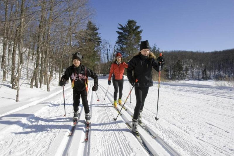 Cross-country skiiers